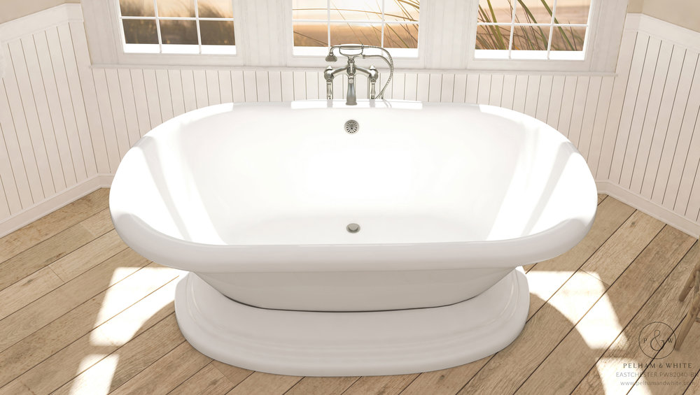 Stand Alone Tubs — Pelham and White
