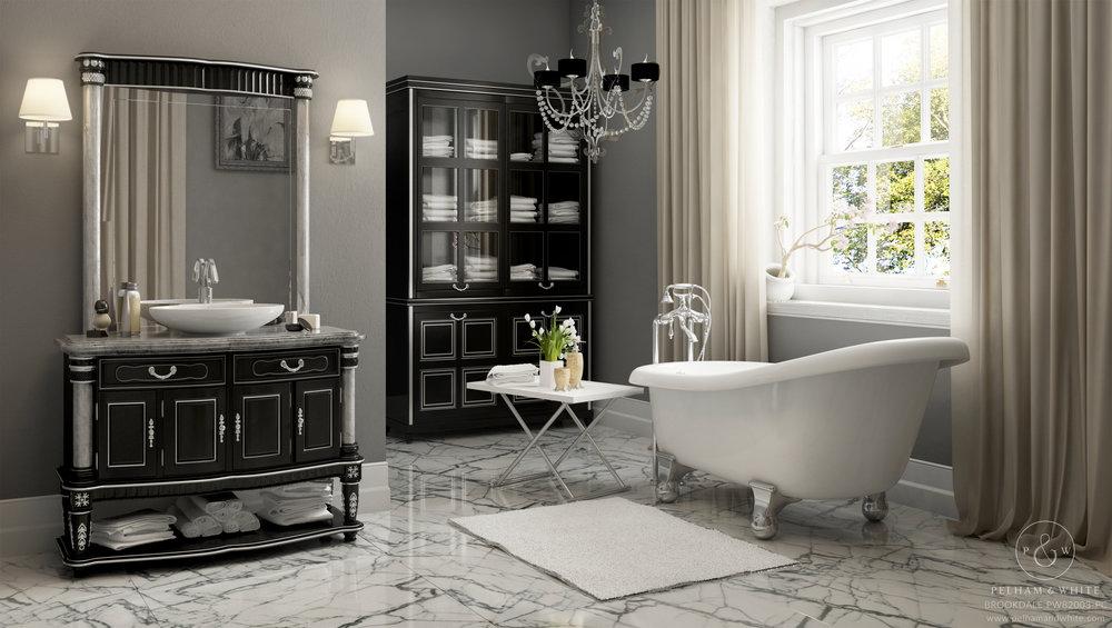 Baroque Bathroom Style