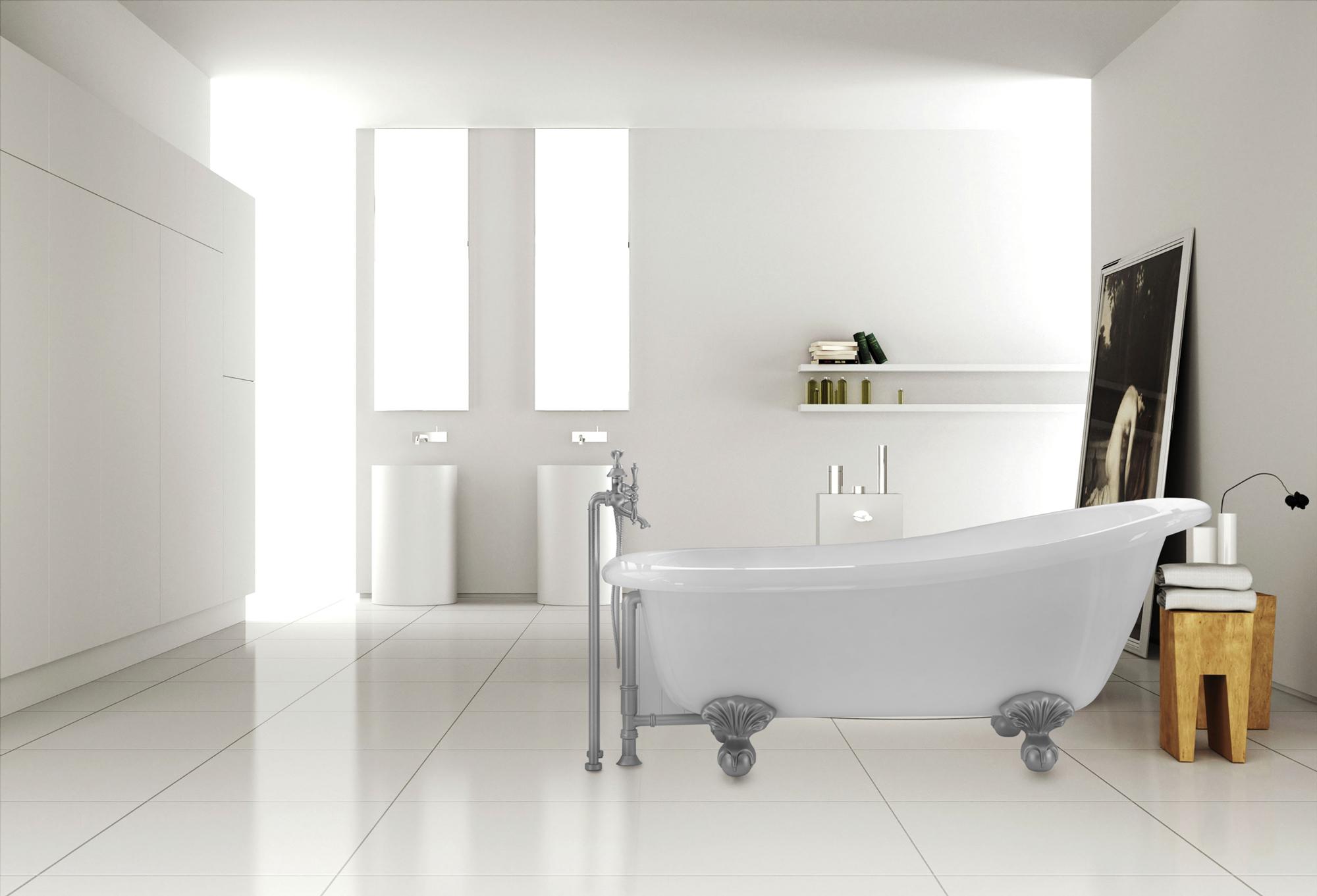Easily Incorporate a Clawfoot Tub Into a Modern Bath Design — Pelham ...