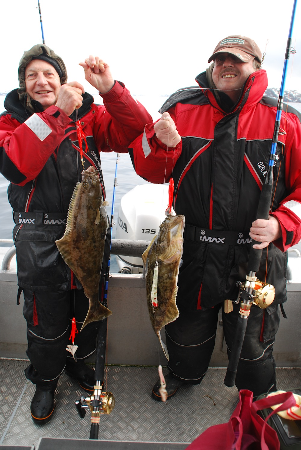 Erhard og Verner med dobbelt hug af flyndere