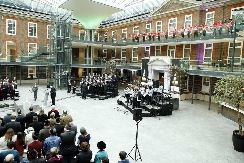 Event  Public Memorial event at Rickett Quadrangle, Middlesex University.