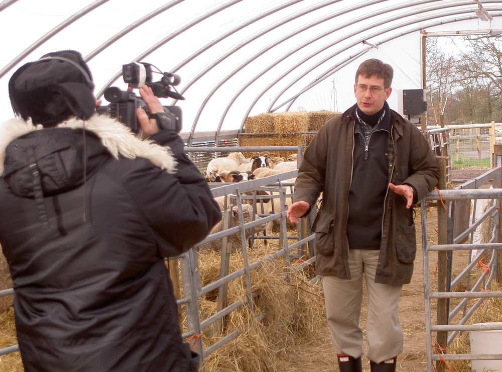 FILM  Farm location filming and production for global food conference.