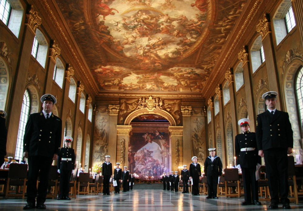 Painted Hall Guard of honor.jpg