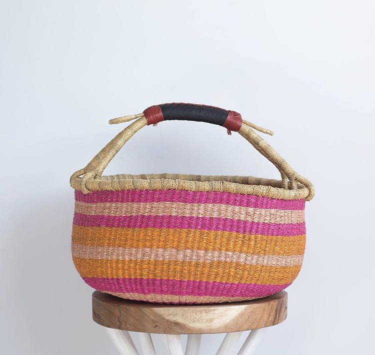 HANDMADE BOLGA BASKET, SOME OF A KIND
