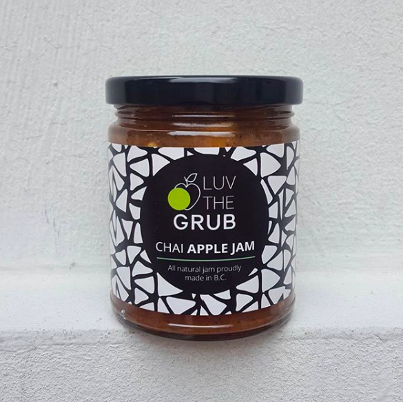 CHAI APPLE JAM, LUV THE GRUB