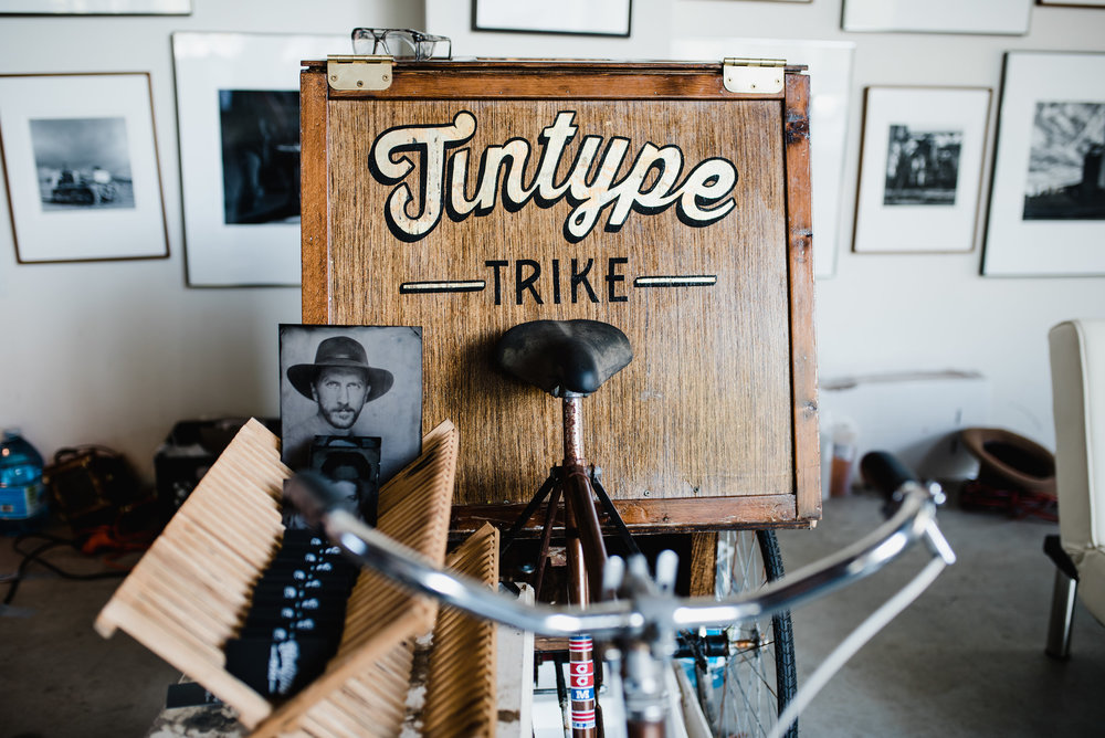 Tin Type portraits will be shooting walk-ins during market hours.