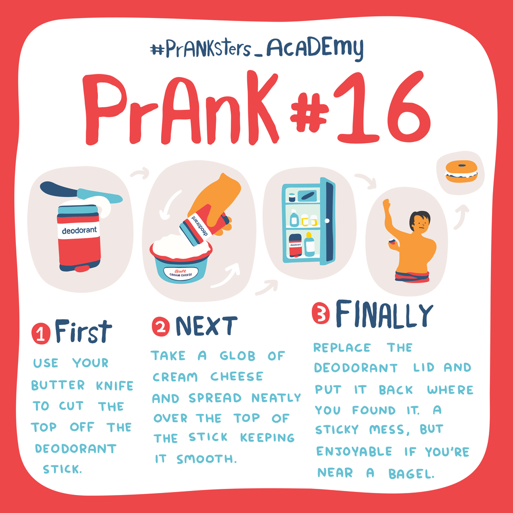 Prank #16: A sticky mess