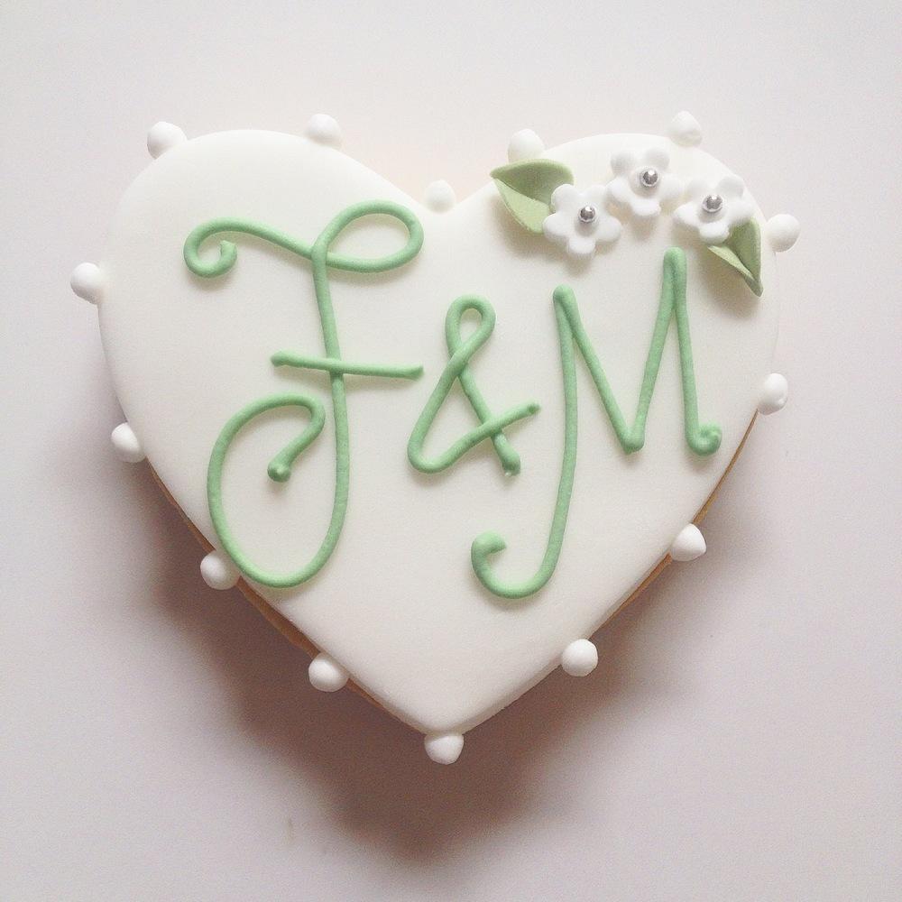 Monogram Wedding Favours