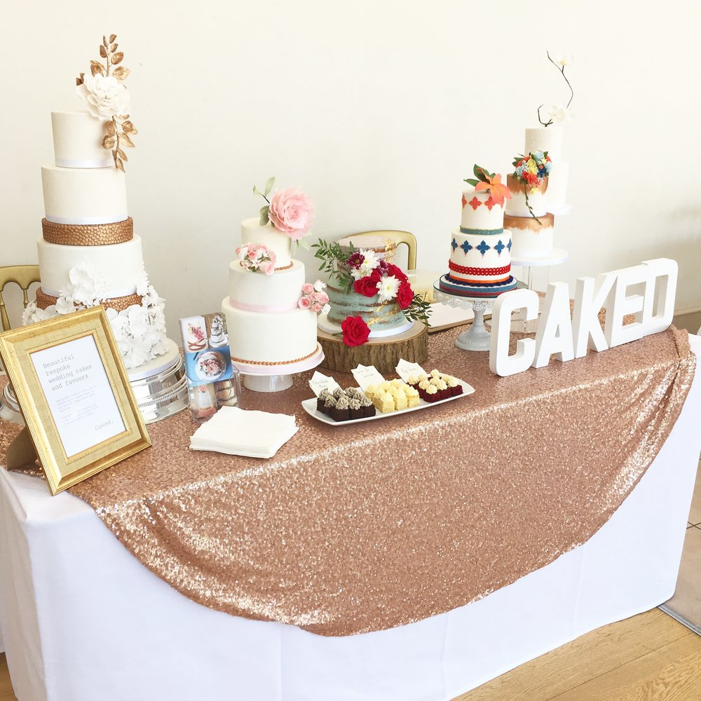Littleton Park House Wedding Fair - Caked stand