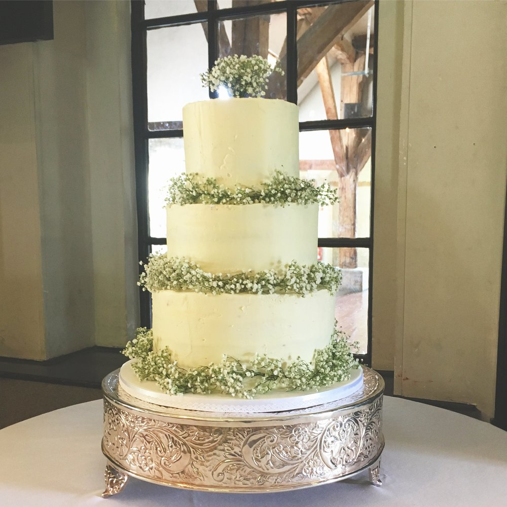 Gypsophila Wedding cake