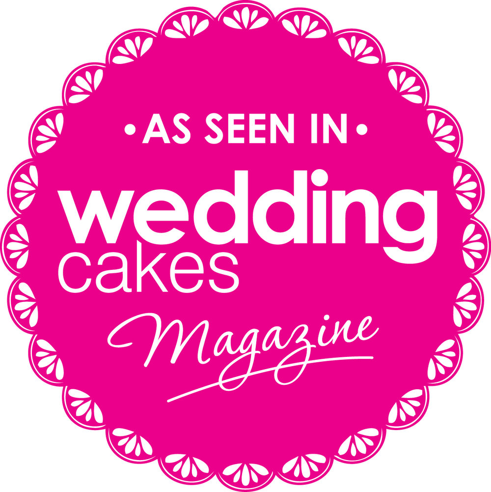 As seen in Wedding Cakes Magazine