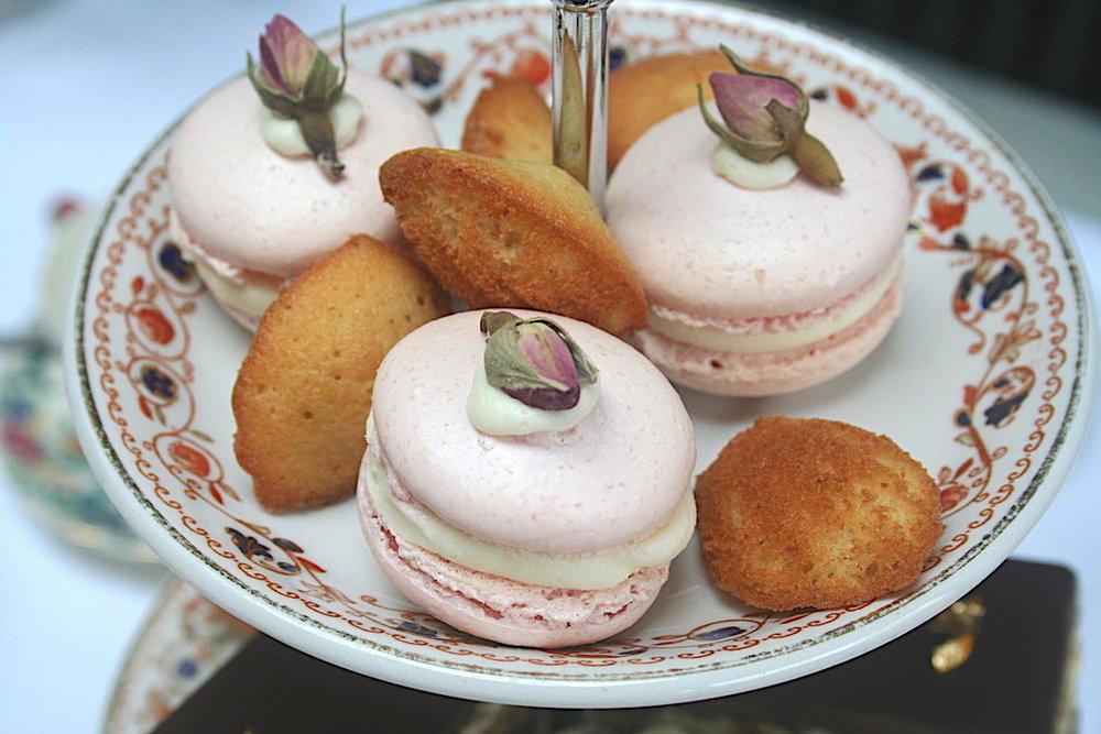 Caked Teas Afternoon Tea Macarons