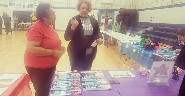 Advocate Ms. Millie of Supported Employment and DSP Indira shared information on our #SupportedEmployment Services at #anotherchance Saturday at the 2nd Annual Summer Camp for the #Deaf and Hard of Hearing at the @aasdpanthers! . . . . #disabilityawareness #disabilitysupport #acrsi #dsplife #cnalife #supportedemployment #hearingimpaired