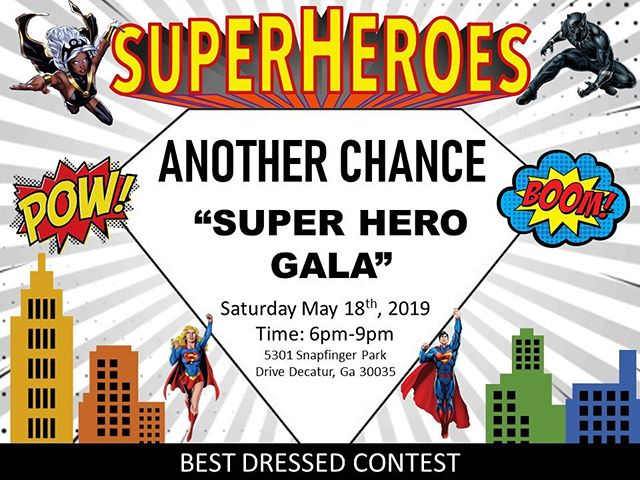 Another Chance's 2019 Superhero Gala 🦹🏻♀️🦹🏽♂️🦸🏼♂️🦸🏽♀️. Well behaved villains are welcome to attend.  #disabilitysupport . . . #disabilityawareness #acrsi #Anotherchance #dsplife #caregivers #developmentaldisabilities #ddawareness19 #supportedemployment #cnalife