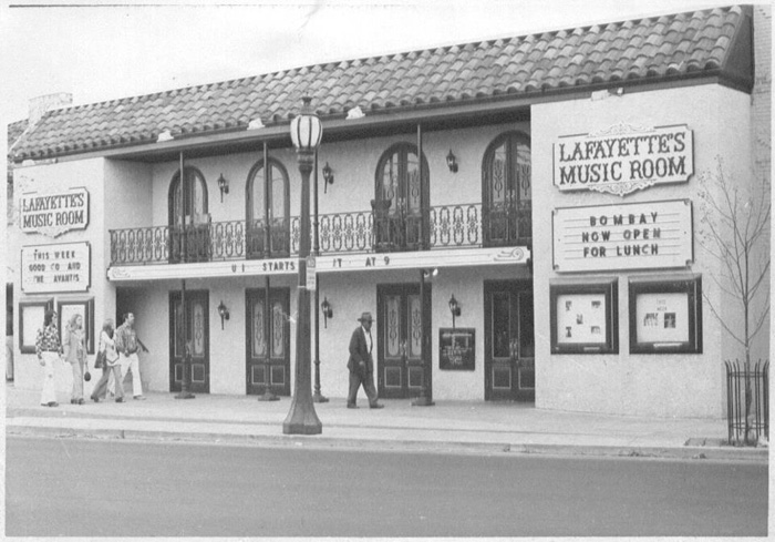 The original Lafayette's Music Room in Overton Square