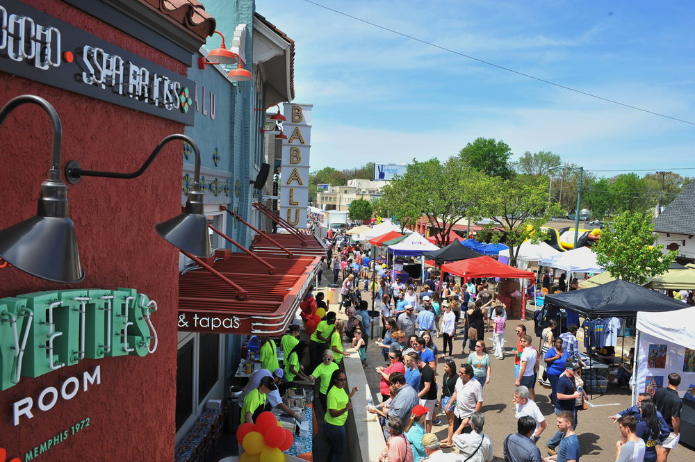 The Bayou Bar & Grill Crawfish Festival attracts over 25,000 visitors to Overton Square each spring