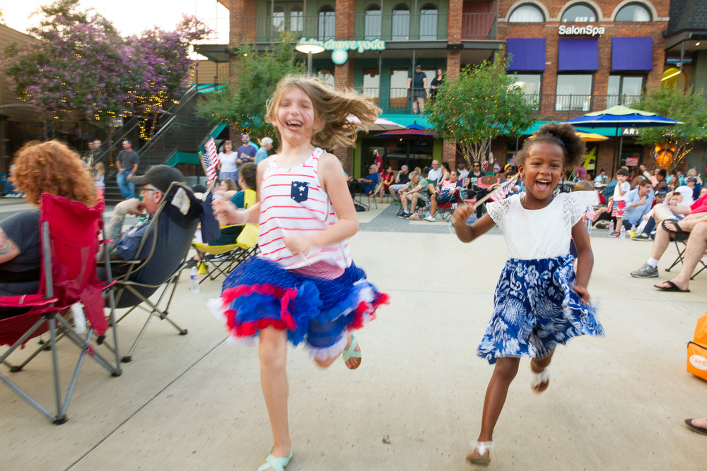 The Overton Square Independence Celebration hosts happy kids and toe-tapping entertainment