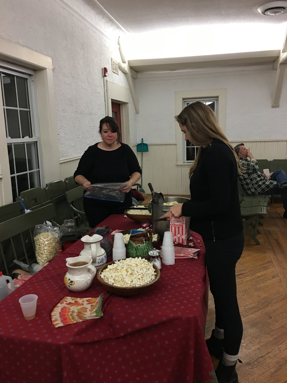 Movie Night: Director, Courtney O'Connor with Virginia Holms