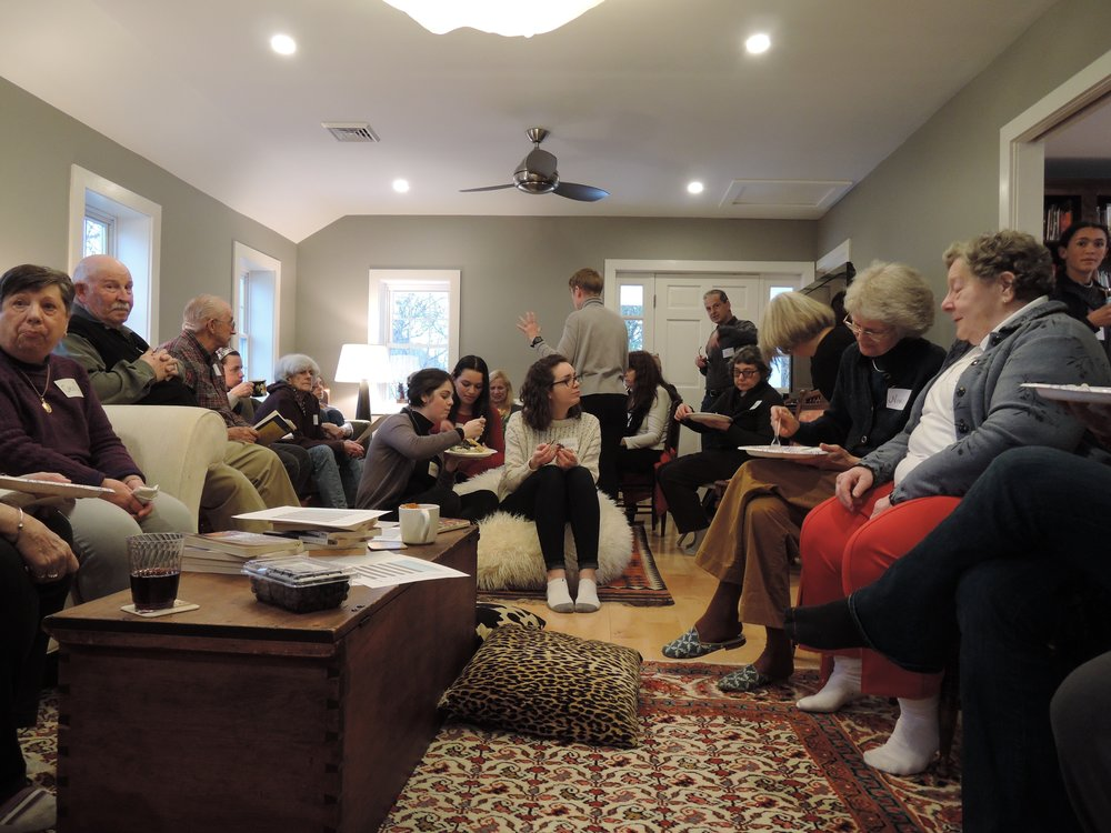 Fireside Read-through & Potluck