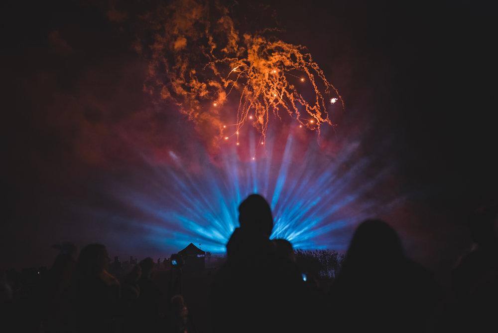 Fireworks Display - Leeds Castle - 2018