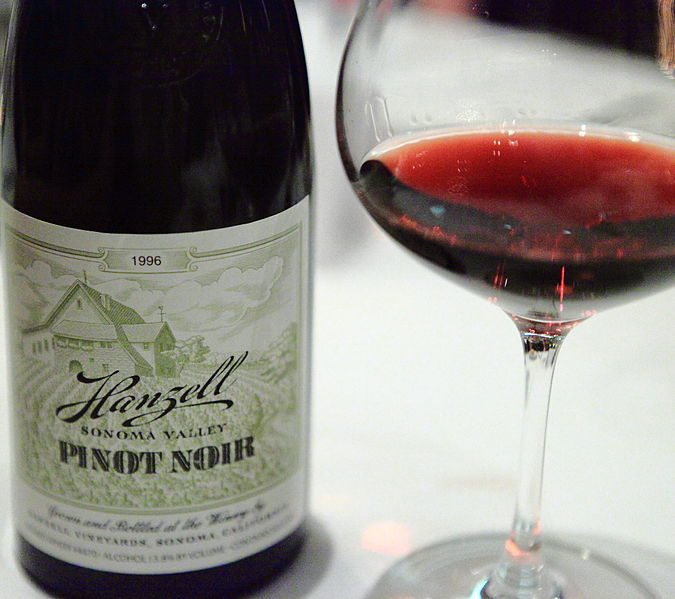 A picture from a little while back...but the increased worldwide demand for Pinot Noir has seen winemakers from all over the world clamor to make some great, light bodied wines.