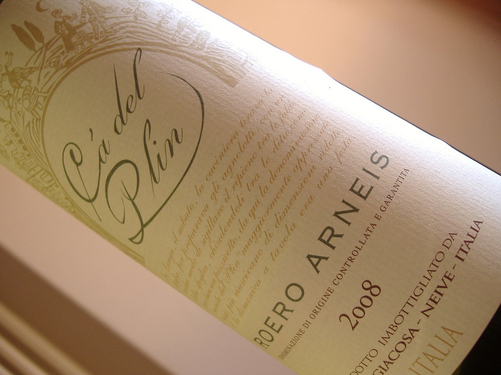 Sexy, lush, and yet totally approachable. The white wine that is friends with anybody, loves everybody, and is love by everybody. It can only be Arneis.