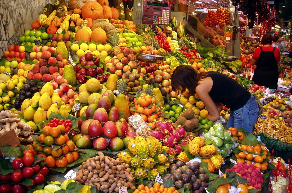 You don't HAVE to go sniffing fruits in a market stall, but it does help.
