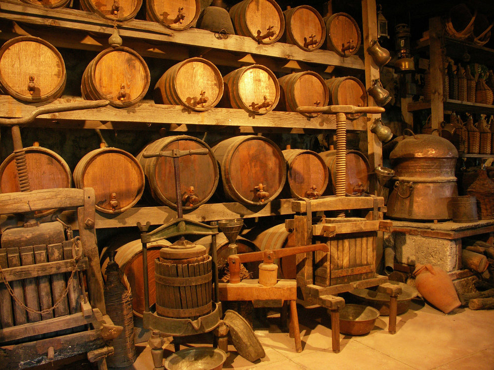 When you have a good vintage, you will want to hold on to it forever. So better build yourself a cellar.