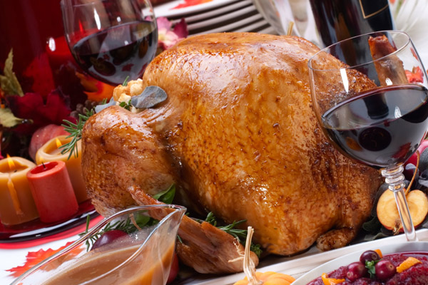 Its turkey season! So turkey wines are on our minds.