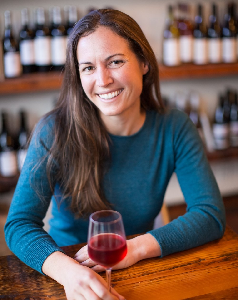 A smile and a passion. Martha's warm heart comes through in her wine, and it serves to lift your soul.