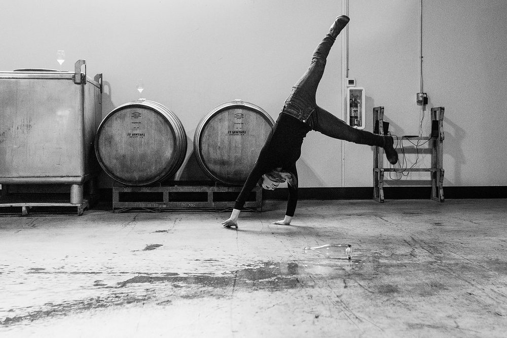 Its all about fun! Wines so good they will have you doing cartwheeels! Sorry we couldn't help ourselves there Martha!