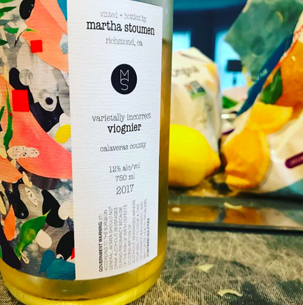 Not your mama's Viognier. This is not the butterscotch-like oily wine that is typical of Viognier. A hint of creaminess gives way to a much more crisp, and refreshing wine.