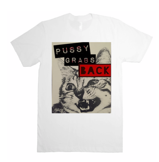 Female Collective Pussy Grabs Back t-shirt by Feminist Fight Club. $32.00.