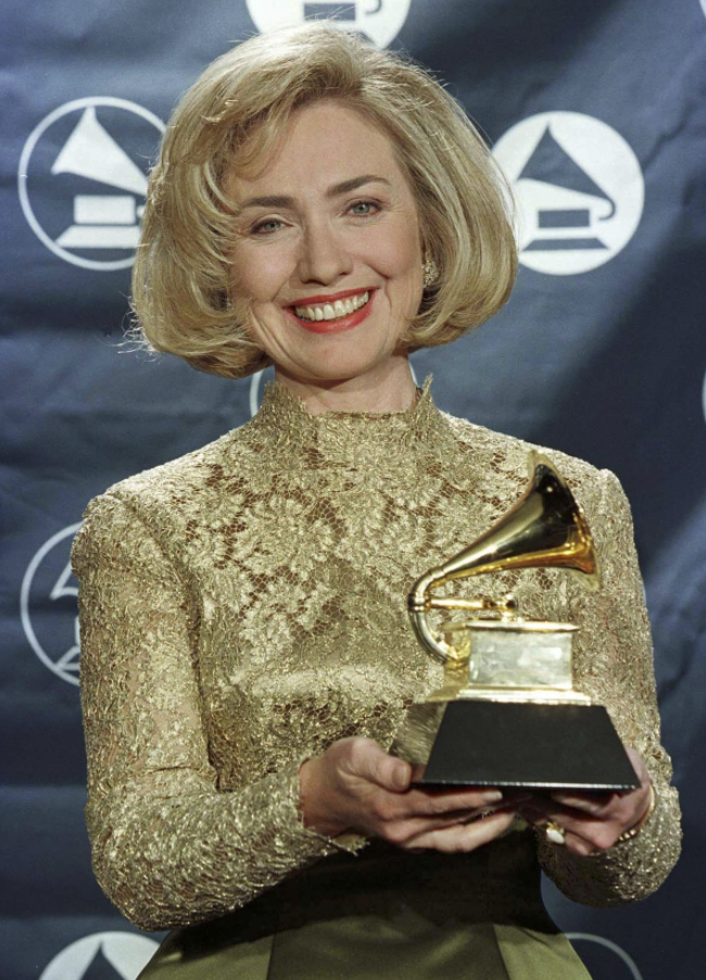 "In 1997 Hillary Clinton won a Grammy for the audio recording of ""It Takes A Village."""