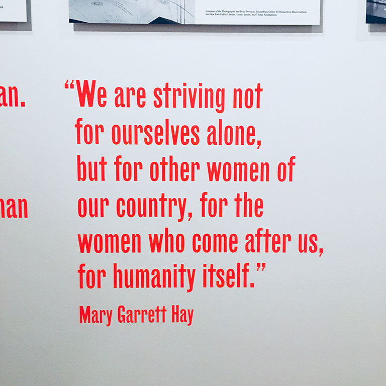 "Mary ""Mollie"" Garrett Hay was a suffragist, community organizer and president of the Women's City Club of New York, the Woman Suffrage Party and the New York Equal Suffrage League."