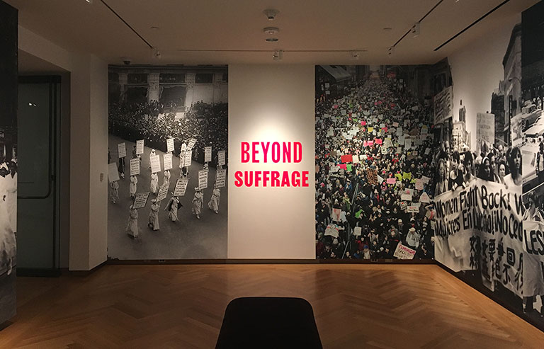 Beyond Suffrage, a Century of New York Women in Politics. Open NOW thru July 22, 2018.