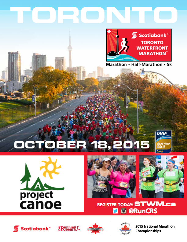 Scotiabank Marathon PC poster