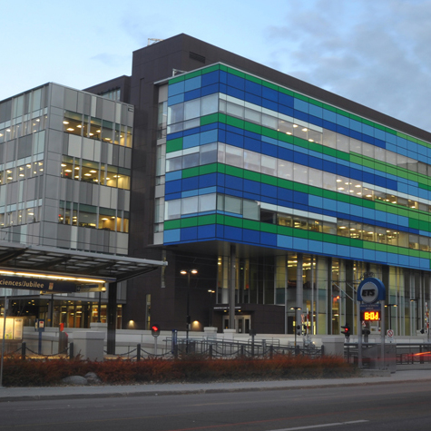 Edmonton Clinic Health Academy, University of Alberta  Edmonton, AB  Associate HOK Architects  2012