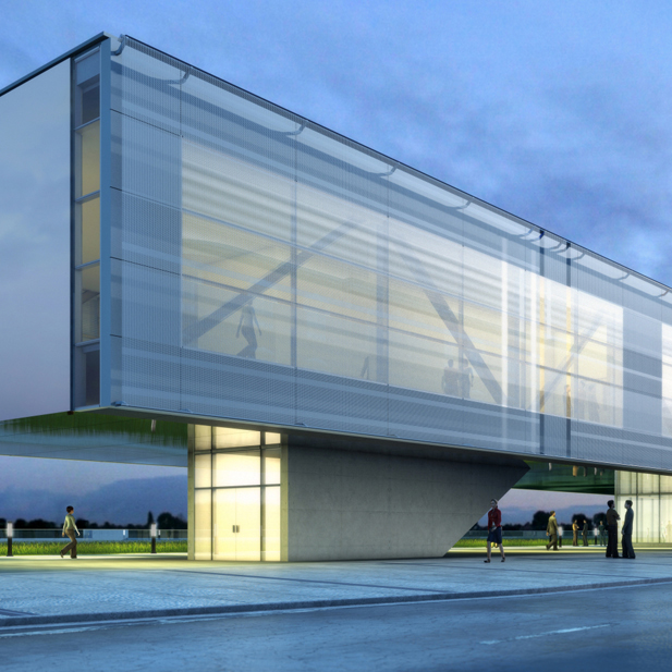 Laurier Brantford YMCA Athletics and Recreation Centre  Brantford, ON  Senior Associate CannonDesign  2015