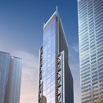 World Trade Center Redevelopment Project Tower 3  New York, NY  Project Architect Adamson Associates Architects  2008