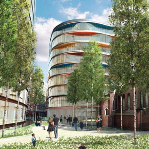 Mixed-Use Redevelopment  London, UK  Architectural Assistant Make Architects Ltd.  2007