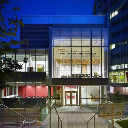 Life Sciences Centre, McGill University  Montreal, QC  Design Architect Diamond Schmitt Architects Inc.  2008