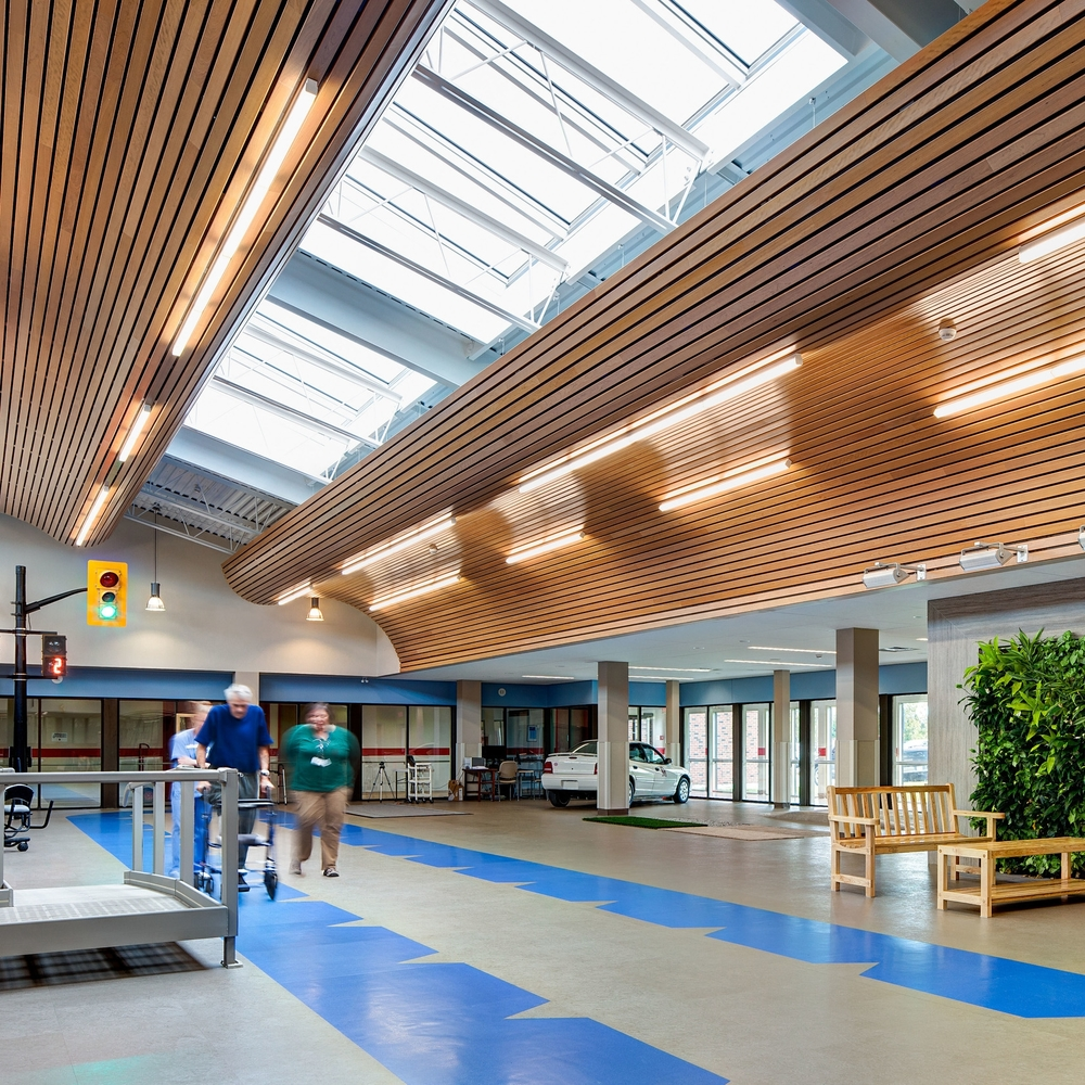 Hotel Dieu Shaver Health and Rehabilitation Centre  St. Catherines, ON  Principal in Charge Kasian Architecture Ontario Inc.  2012