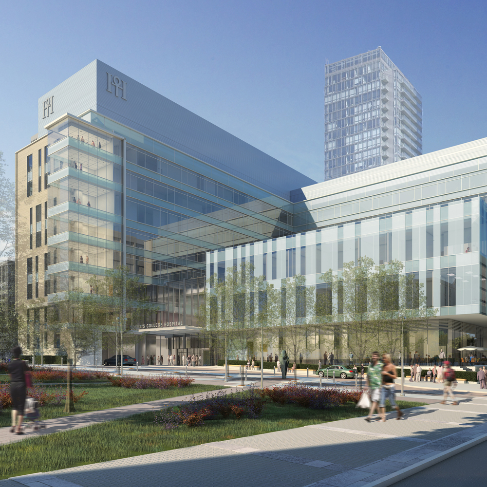 Women's College Hospital  Toronto, ON  Principal in Charge Kasian Architecture Ontario Inc.  2010