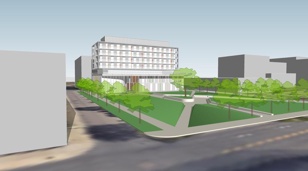 Hamilton Urban Core Community Health Centre  Hamilton, ON  Principal in Charge Patsy Poulin Architect Inc.  2016