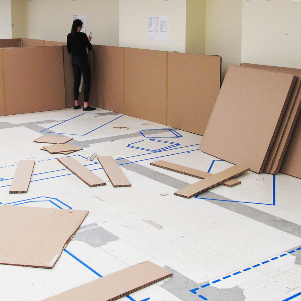 SickKids Modular Clinic   Health Care  Design Mock Up & Strategic Programming  SickKids Hospital, Toronto
