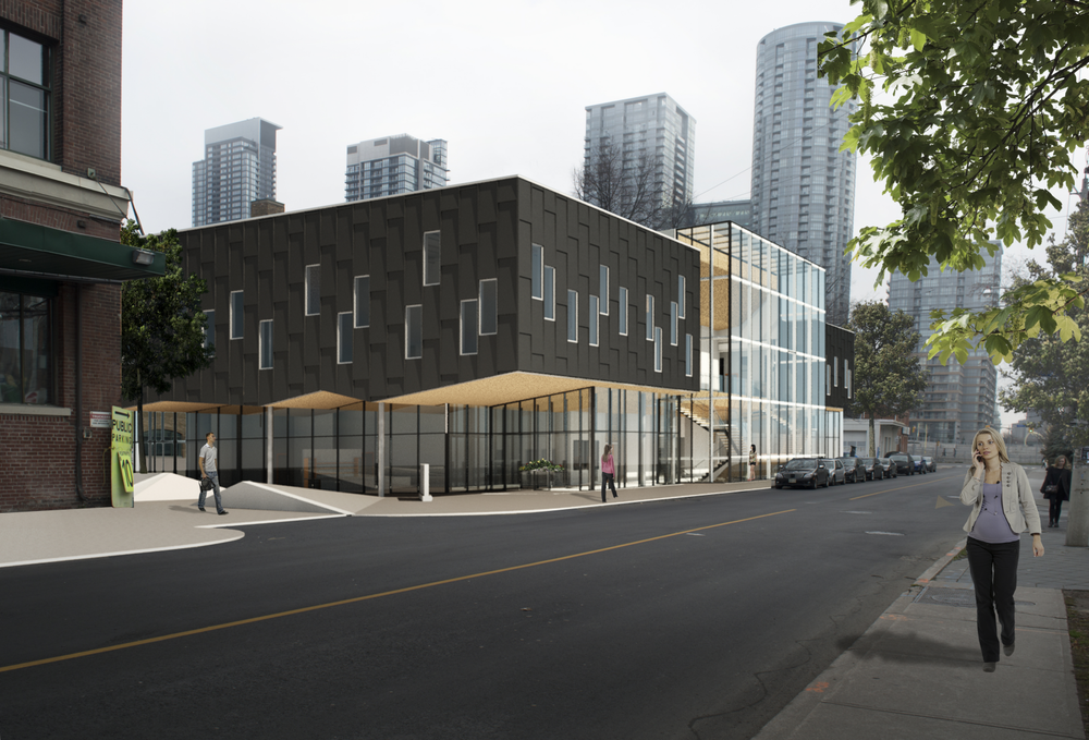 Portland Community Centre  Theoretical Project  Toronto, Ontario  Integration Studio II, Ryerson University 2016
