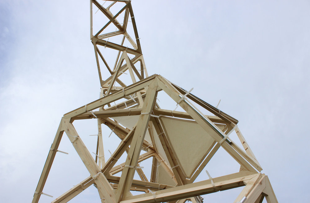 Tessellate  Design Build Project  Sault Ste. Marie, Ontario  Studio Project, McEwen School of Architecture 2015