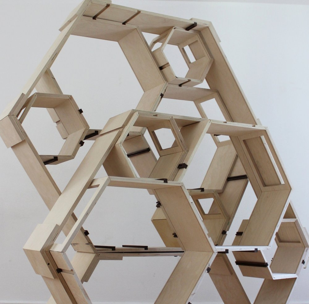 Hexag  Design-Build Project  Ottawa, Ontario  Studio Project, Carleton University 2014