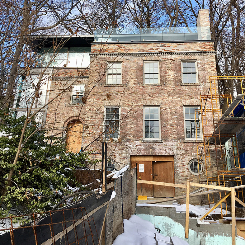 Poplar Plains Residence Toronto, ON Setless Architecture 2018